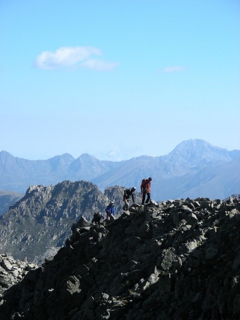 Alpinisme initiation - Traversée Royo Perdiguère