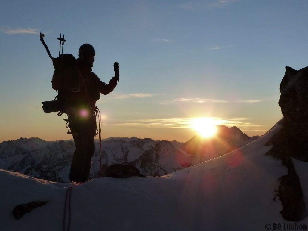 Découverte alpinisme hivernal