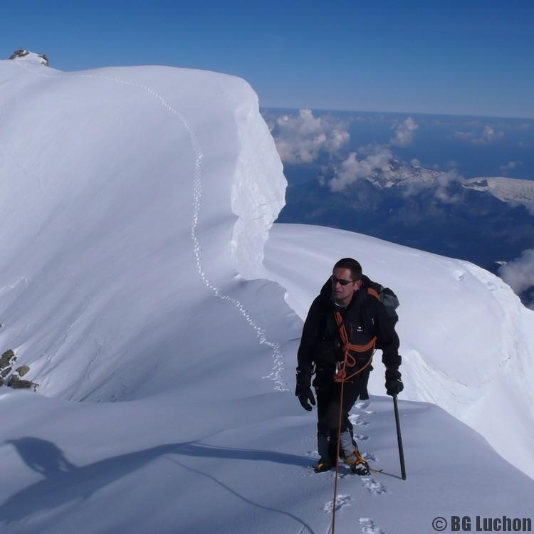 Alpinisme Pyrénées guide luchon hivers