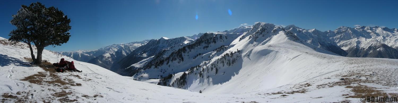 Raquette, ski et alpinisme, activités hiver Pyrénées Luchon