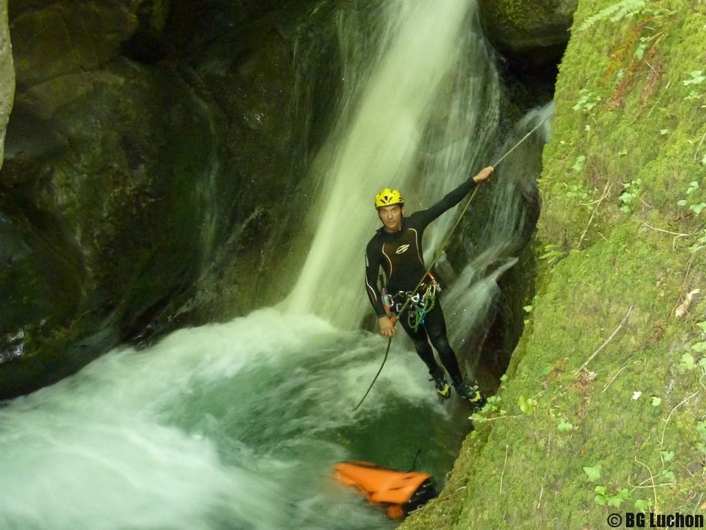 Canyon initiation Arlos