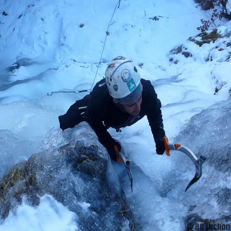 Cascade de glace Pyrénées Luchon