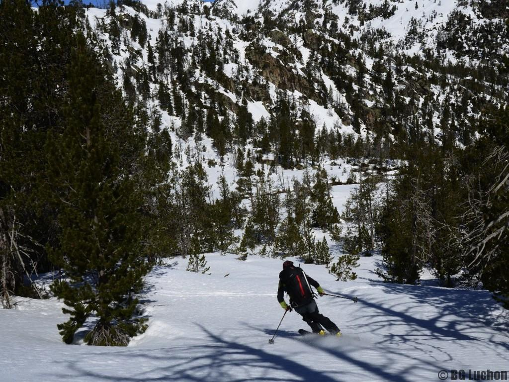 Ski hors piste découverte du domaine