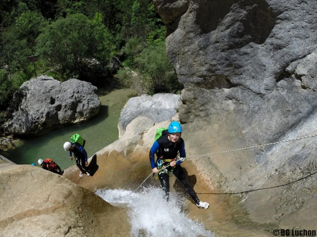 Canyon sportif du Viu (Espagne)