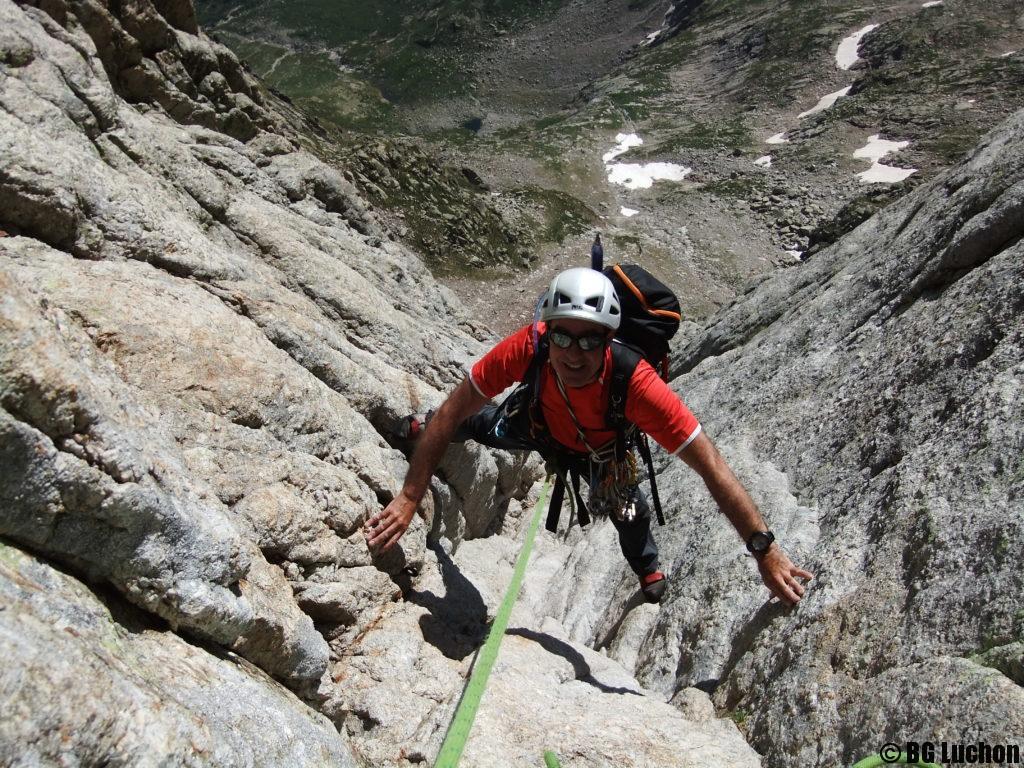 Alpinisme dièdre des Spijeoles