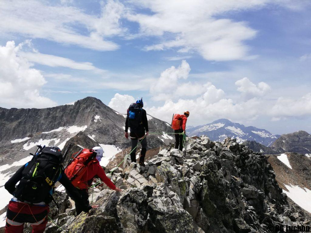 Alpinisme intiation - Traversée Royo Perdiguère